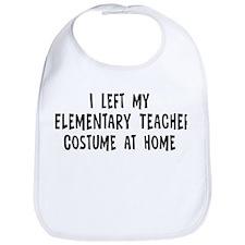 Left my Elementary Teacher Bib