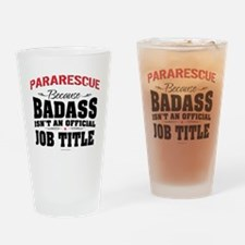 Unique Pararescue Drinking Glass