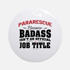 Unique Pararescue Round Ornament