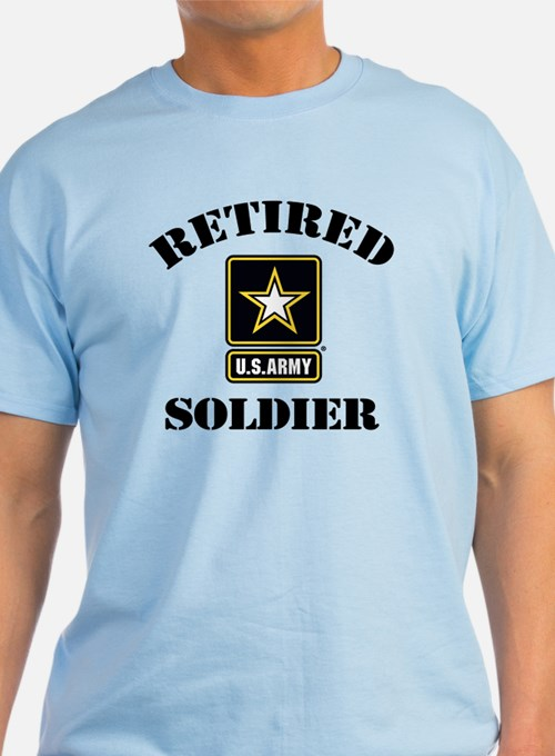 Retired U.S. Army Soldier T-Shirt