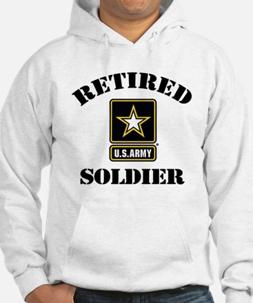 Retired U.S. Army Soldier Hoodie
