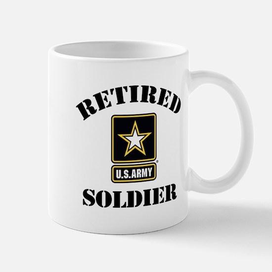 Retired U.S. Army Soldier Mug