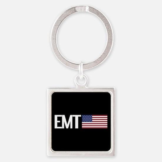 EMT: American Flag Keychains