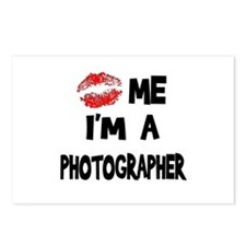 Kiss Me I'm A Photographer. Postcards (Package of