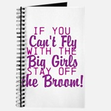 stay off the broom Journal