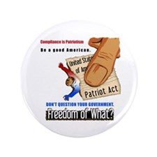 Freedom Political Large Buttons (100 pk)