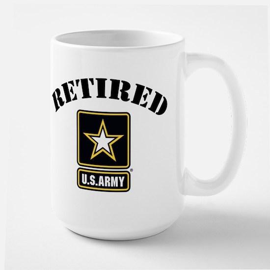 Retired U.S. Army Soldier Large Mug