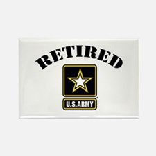 Retired U.S. Army Soldier Rectangle Magnet