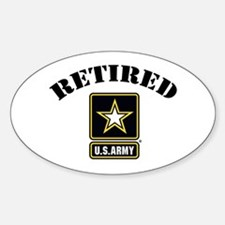 Retired U.S. Army Soldier Decal