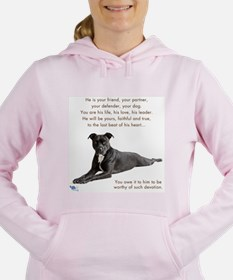 Unique Dogs Women's Hooded Sweatshirt
