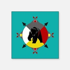 Cherokee Four Directions Bear Sticker
