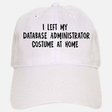 Left my Database Administrato Baseball Baseball Cap