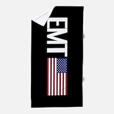 EMT: American Flag Beach Towel