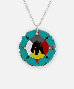 Cherokee Four Directions Bea Necklace