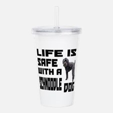 Life Is Safe With A Sc Acrylic Double-wall Tumbler