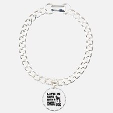 Life Is Safe With A Schn Charm Bracelet, One Charm