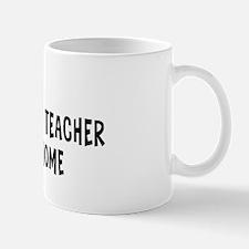 Left my Earth Sciences Teache Mug