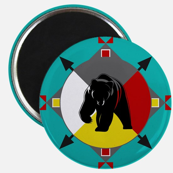 Cherokee Four Directions Bear Magnets