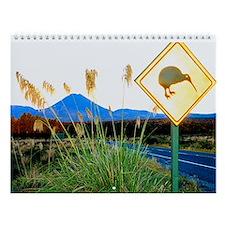 National Park New Zealand Wall Calendar