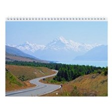 New Zealand South Island Wall Calendar
