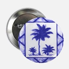 Blue Palms Button