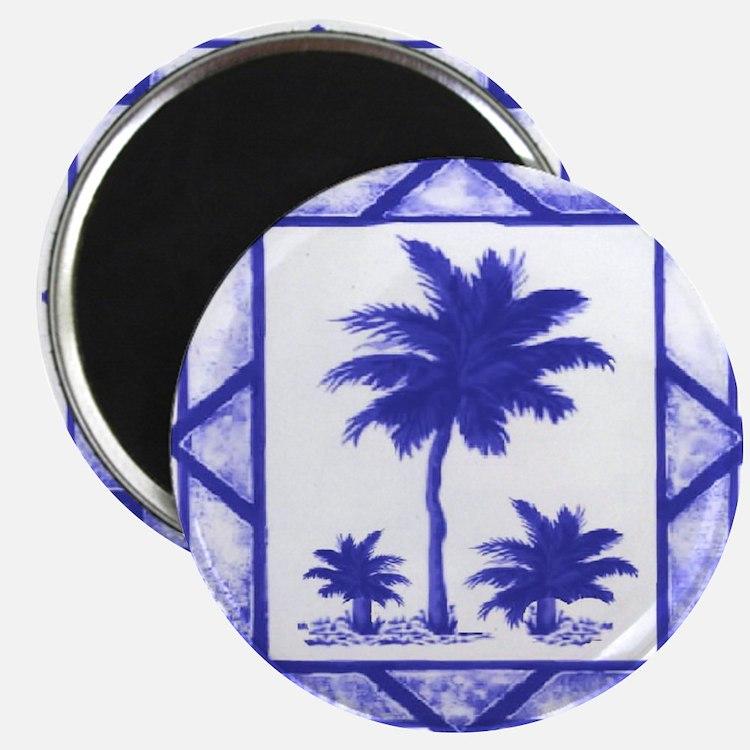 Blue Palms Magnet