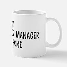 Left my Human Resources Manag Mug