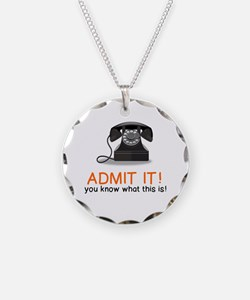 Cute Rotary dial Necklace