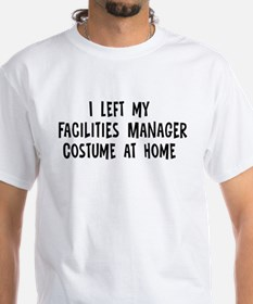 Left my Facilities Manager Shirt
