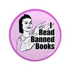 Read Banned Books Large Button