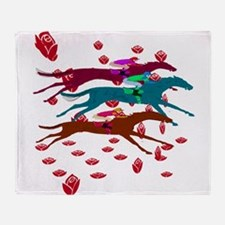 Run for the Roses 2016 Throw Blanket