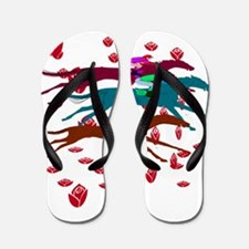 Run for the Roses 2016 Flip Flops