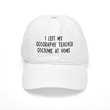 Left my Geography Teacher Baseball Cap