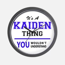 It's KAIDEN thing, you wouldn't underst Wall Clock