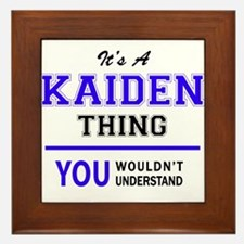 It's KAIDEN thing, you wouldn't unders Framed Tile
