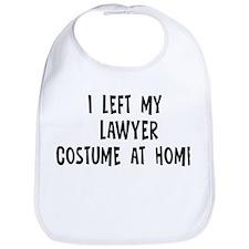 Left my Lawyer Bib