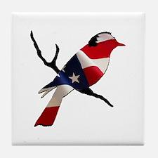 Bernie Bird Tile Coaster