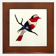 Bernie Bird Framed Tile