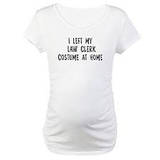 Left my Law Clerk Shirt