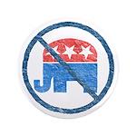 Anti GOP Large Button