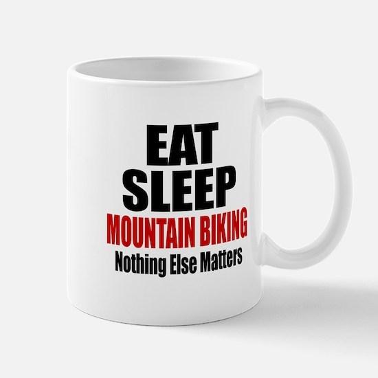 Eat Sleep Mountain Biking Mug