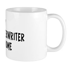 Left my Insurance Underwriter Mug