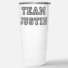 Cute Justin Travel Mug
