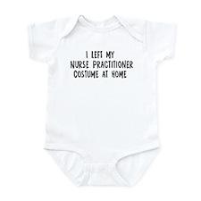 Left my Nurse Practitioner Infant Bodysuit