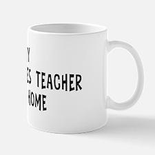 Left my Religious Studies Tea Mug