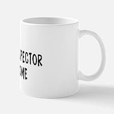 Left my Immigration Inspector Mug