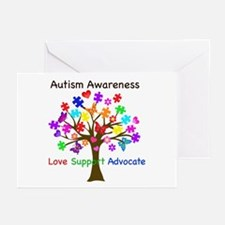 Autism Awareness Tree Greeting Cards (Pk of 20)