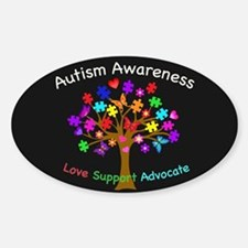 Autism Awareness Tree Bumper Stickers