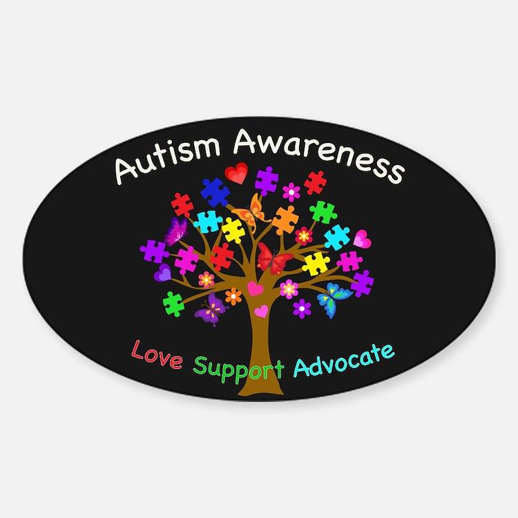 Autism Awareness Tree Decal