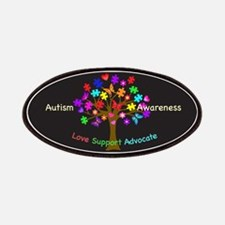 Autism Awareness Tree Patch